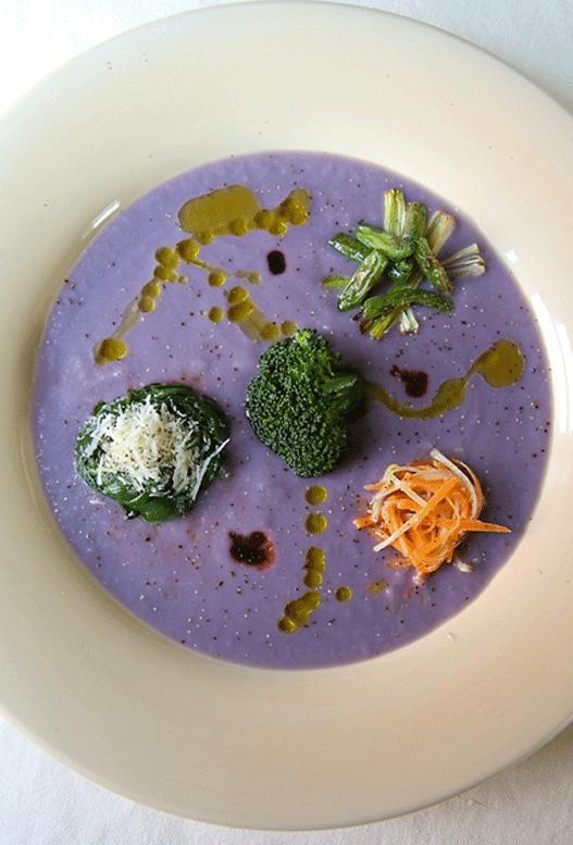 cabbage vegetable cream