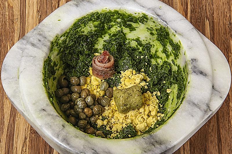 ingredients green wasabi sauce