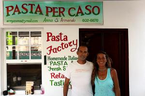 Pasta per Caso Caye Caulker Belize