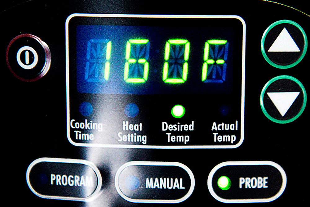crock pot temperature indicator