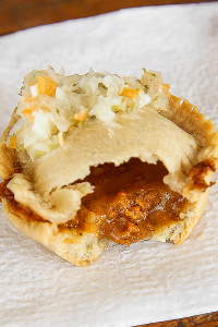 Belizean meat pie