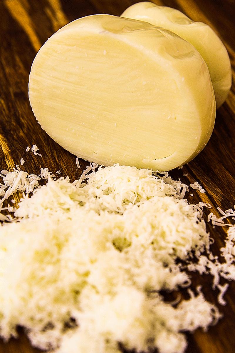 Scamorza Italian cheese