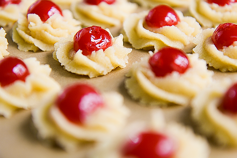 Cookies with cherries recipes