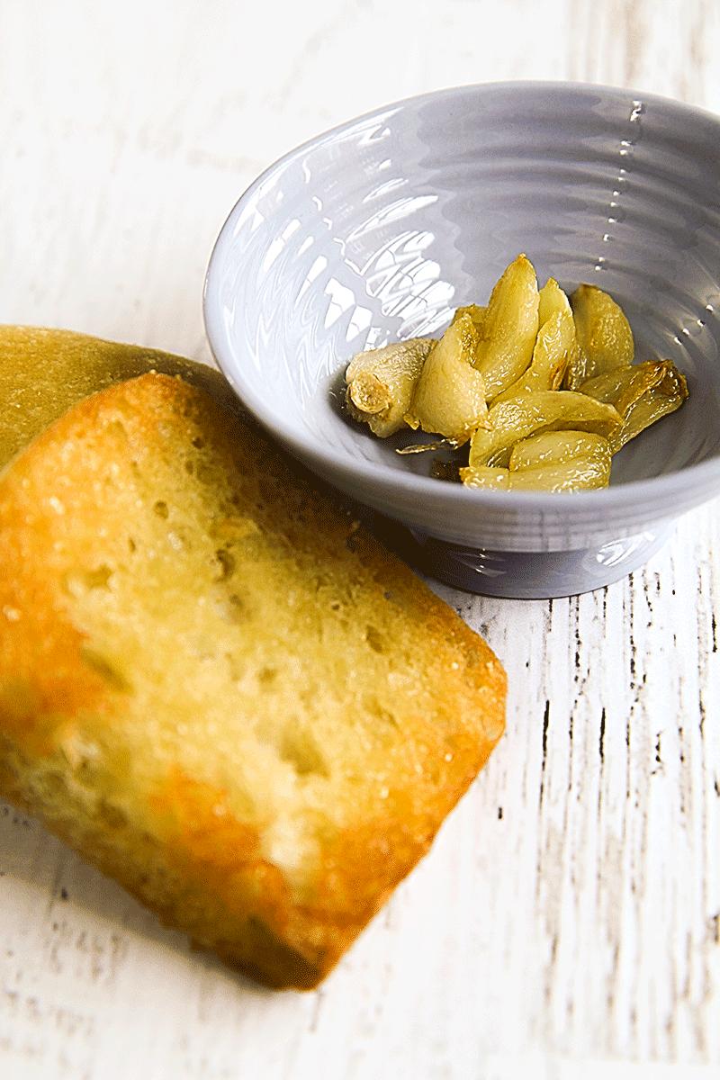 stir fried garlic