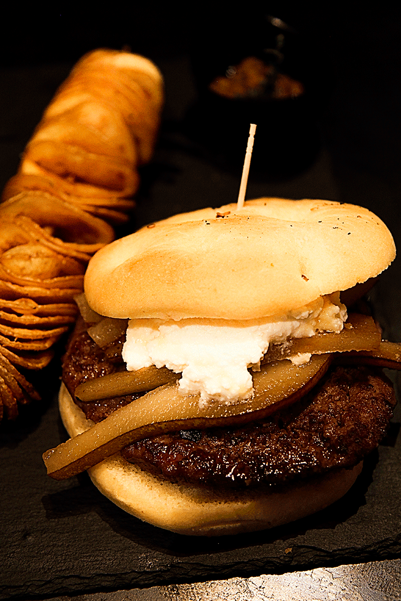 A hamburger in Florence - Gnam Firenze