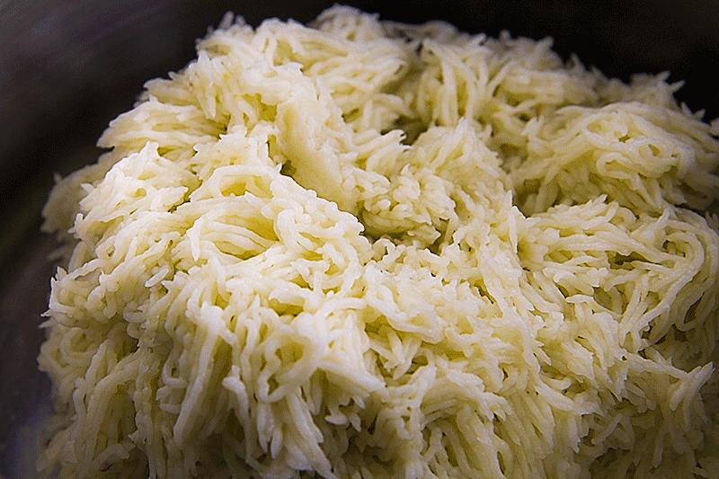 Italian mashed potatoes - puré di patate all'italiana