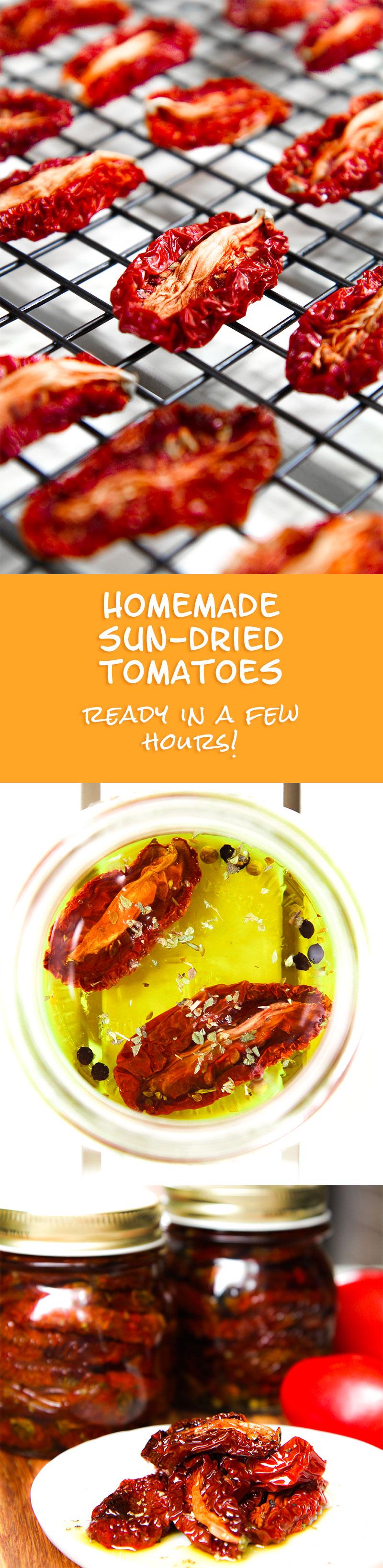 Homemade Sun-Dried Tomatoes Recipe — Dishmaps