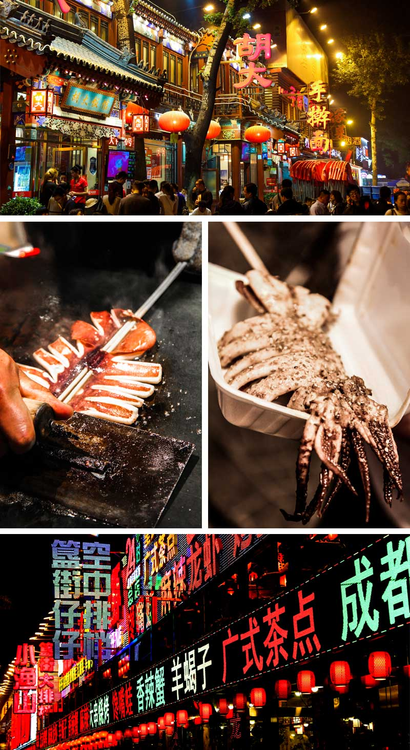 Ghost street - food tips - my foodie travel in Beijing , China - Chinese cuisine