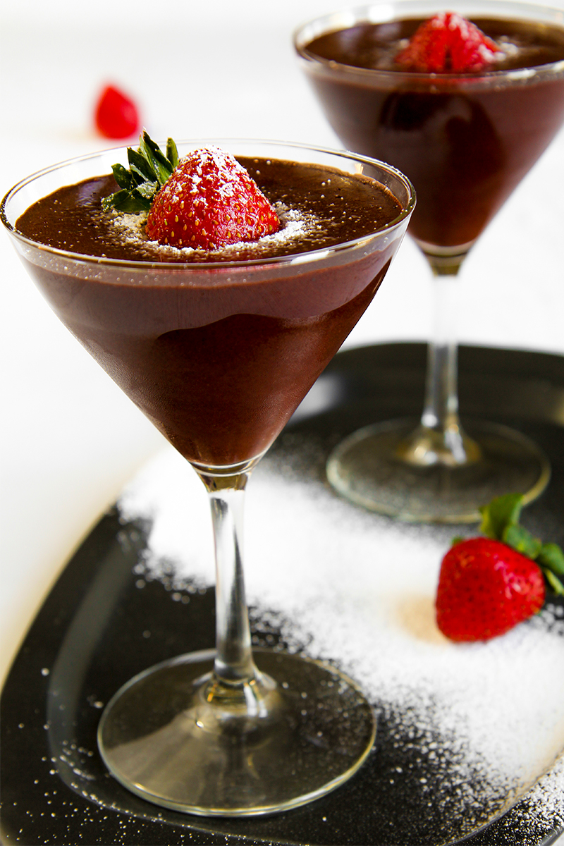 CHOCOLATE MOUSSE lactose free