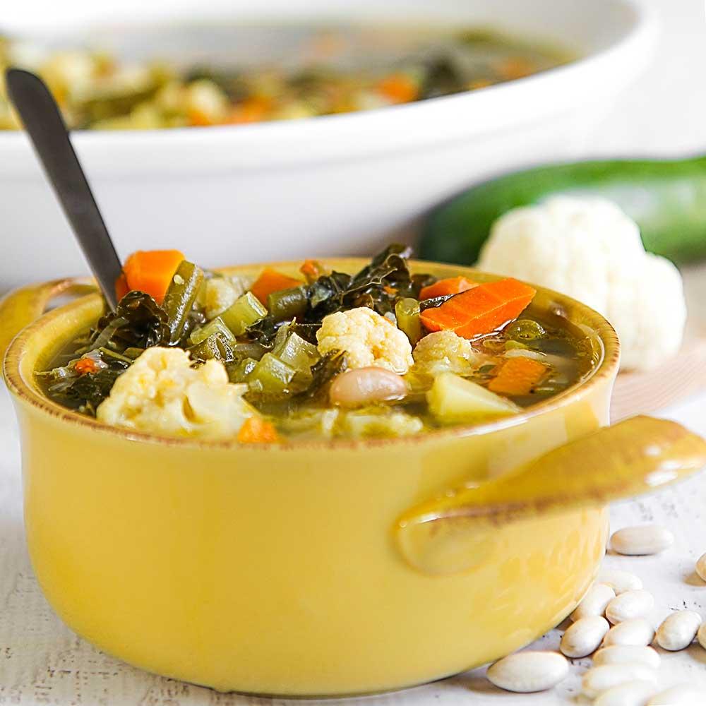 MY MINESTRONE FAMILY RECIPE Italian Vegetable Soup - Italian vegetable soup