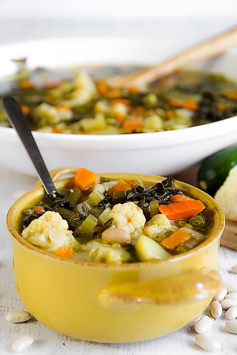 MY FAMILY'S MINESTRONE RECIPE - Italian vegetable soup