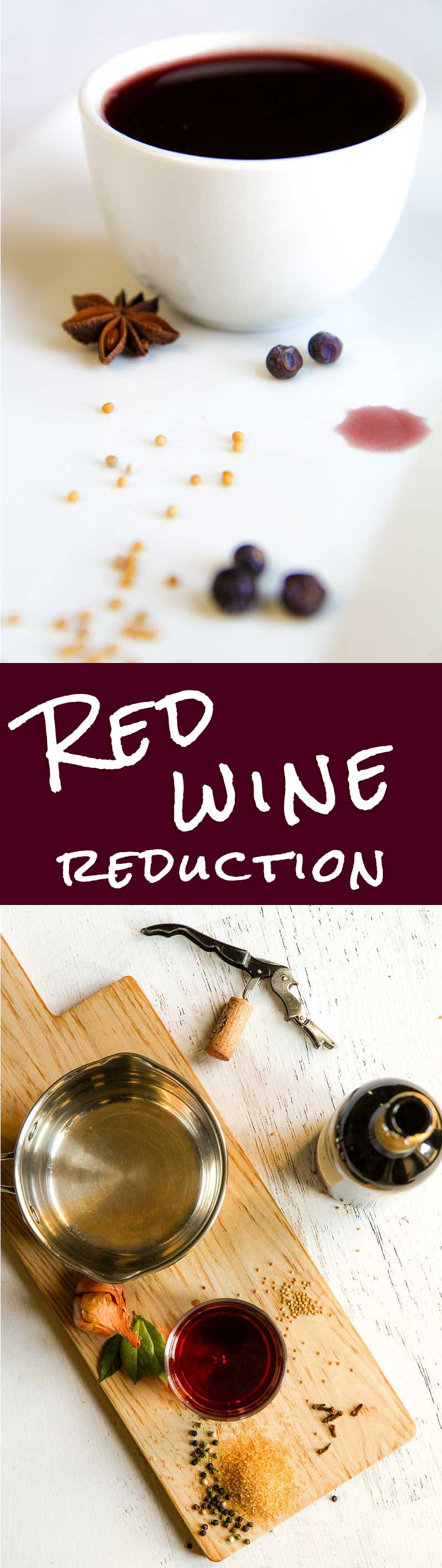 RED WINE REDUCTION RECIPE