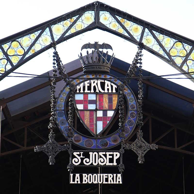 Market Barcelona la boqueria