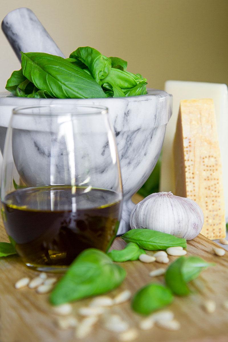 BASIL PESTO recipe and history