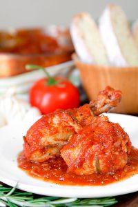 CHICKEN CACCIATORE ITALIAN STYLE - pollo alla cacciatora