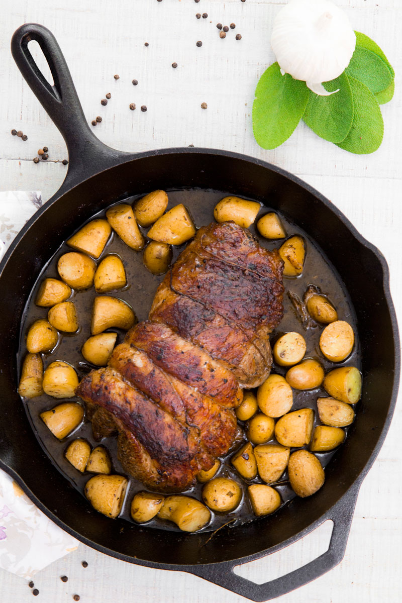 "OVEN ROASTED VEAL BREAST ""ALLA FORNARA"" Recipe & History"