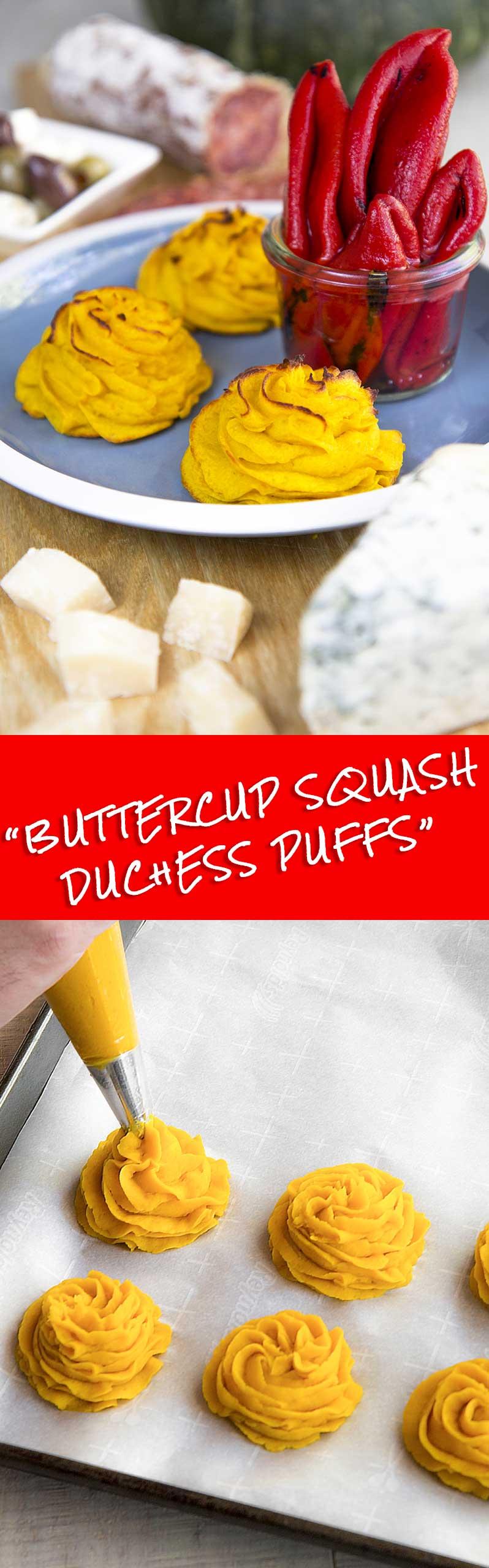 BUTTERCUP SQUASH PUFFS Duchess potatoes style