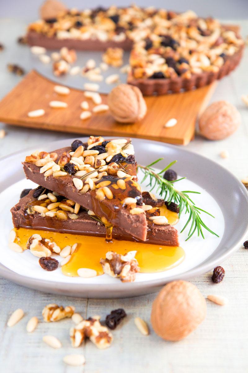 CASTAGNACCIO RECIPE - Tuscan style chestnuts flour cake