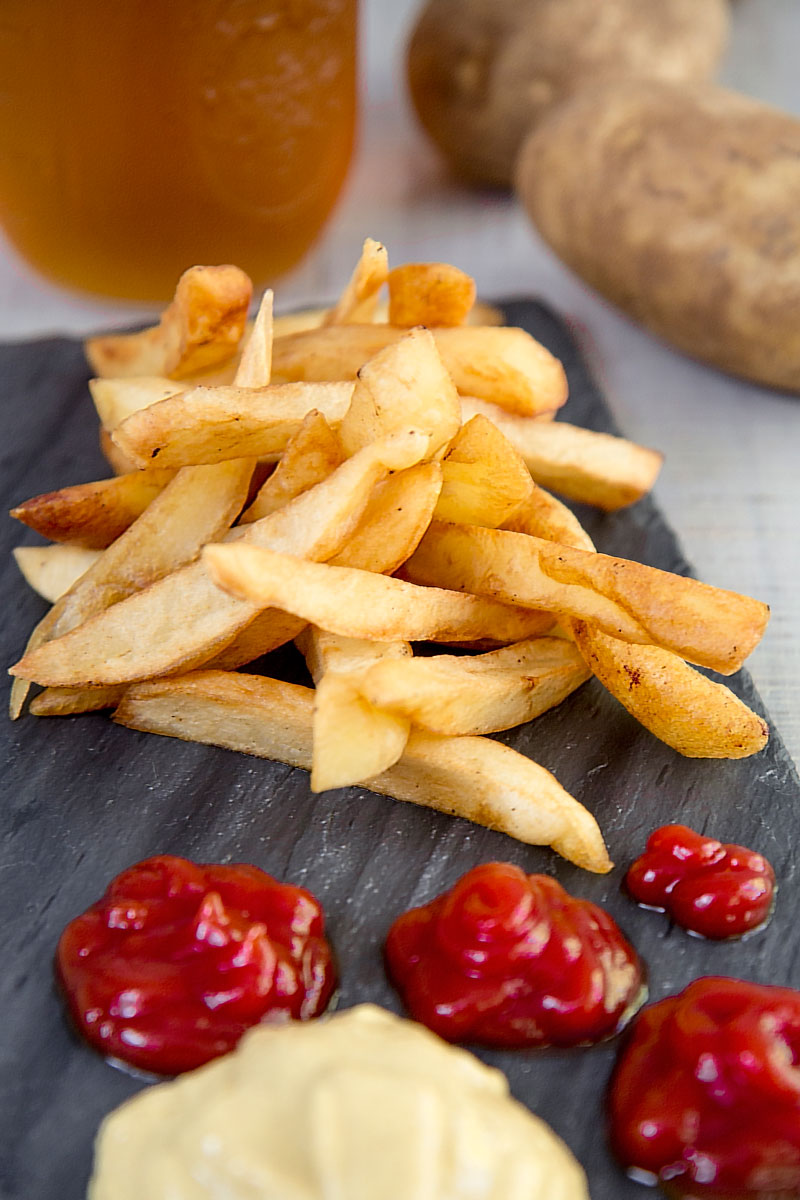 HOMEMADE FRENCH FRIES - legend and recipe