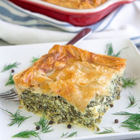 SPANAKOPITA RECIPE & HISTORY - Traditional Greek spinach pie