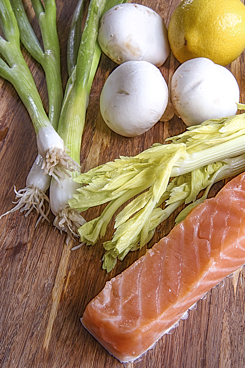 ingredients salmon tartare