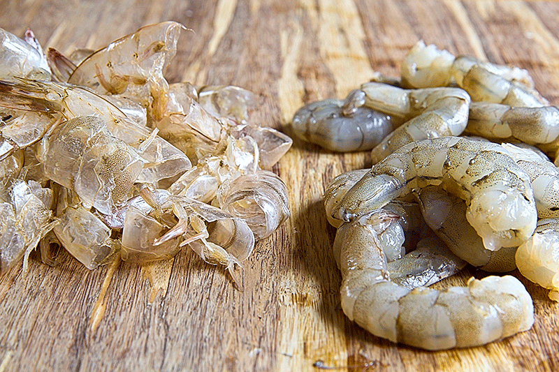 shrimp and shell