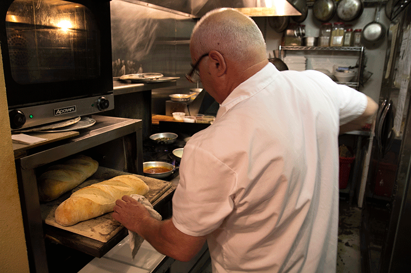 fresh baked bread enzo caffè italiano portland