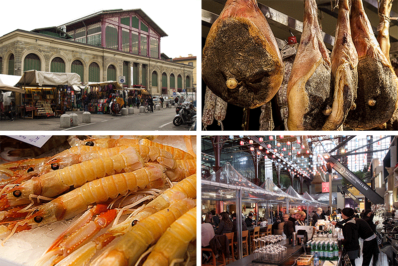 markets in Florence - where to eat in florence