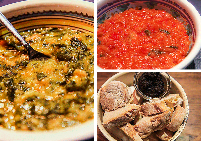 Tuscan soups - where to eat in Florence