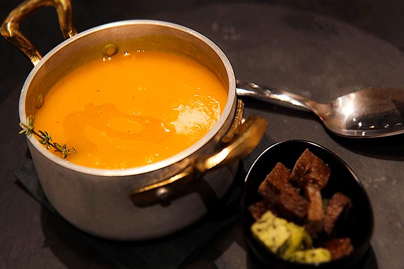 Italian pumpkin soup