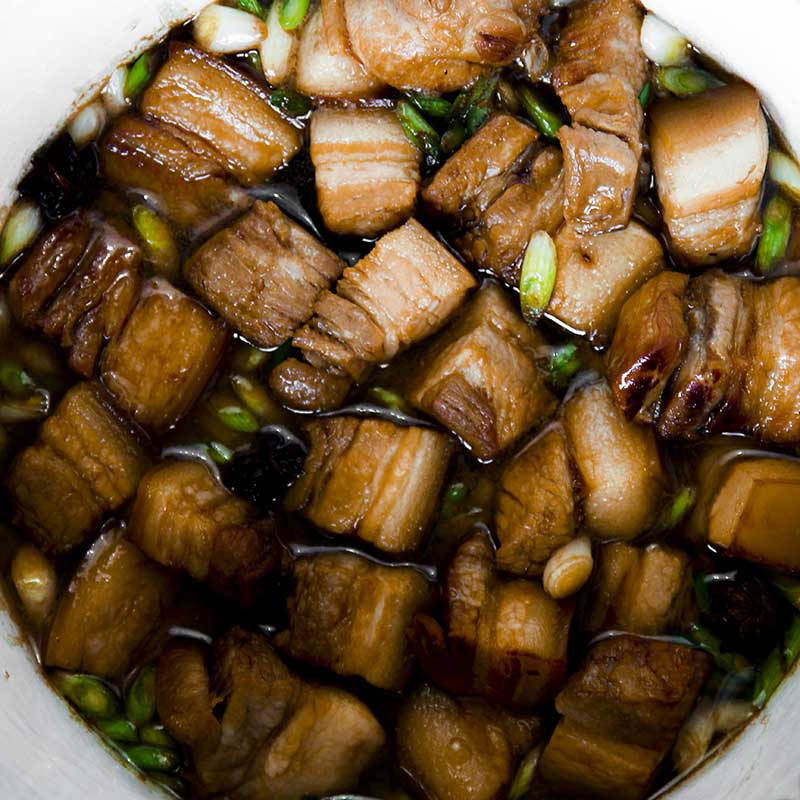 CHINESE PORK BELLY STEW Shanghai style