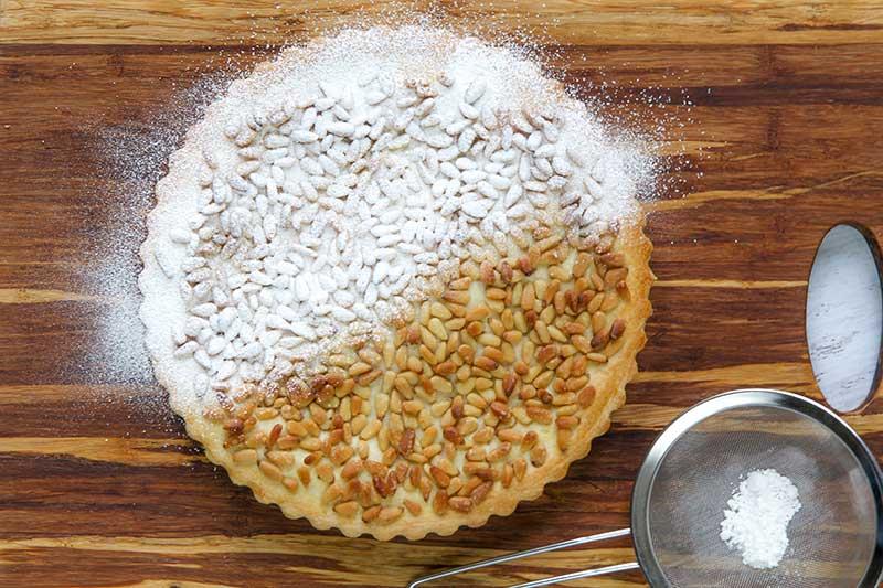 ITALIAN PASTRY CREAM TART (Torta della Nonna)