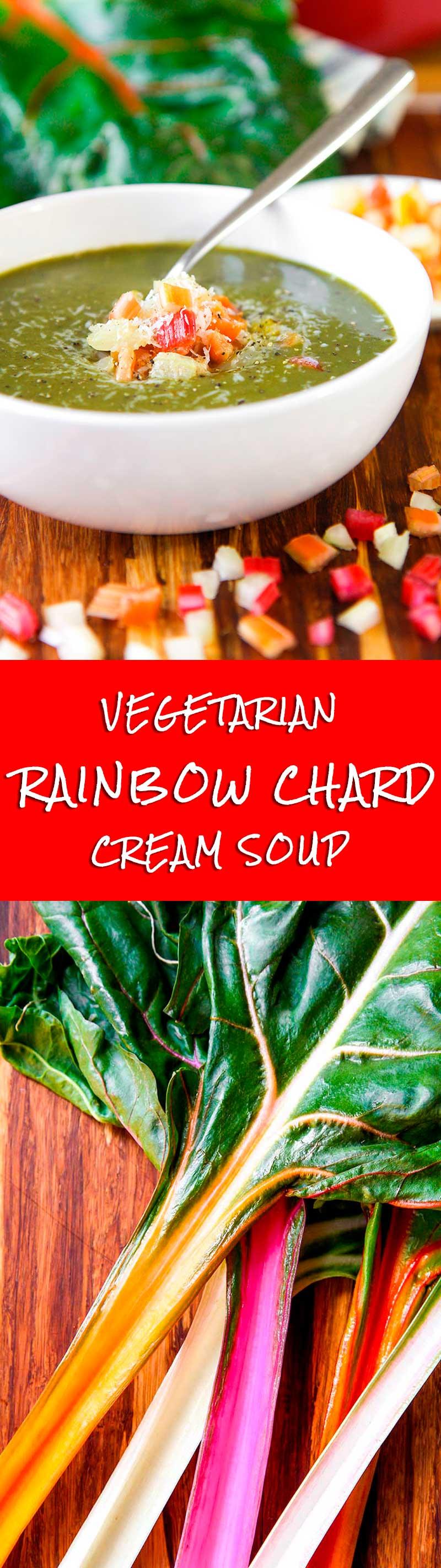 RAINBOW CHARD CREAM SOUP