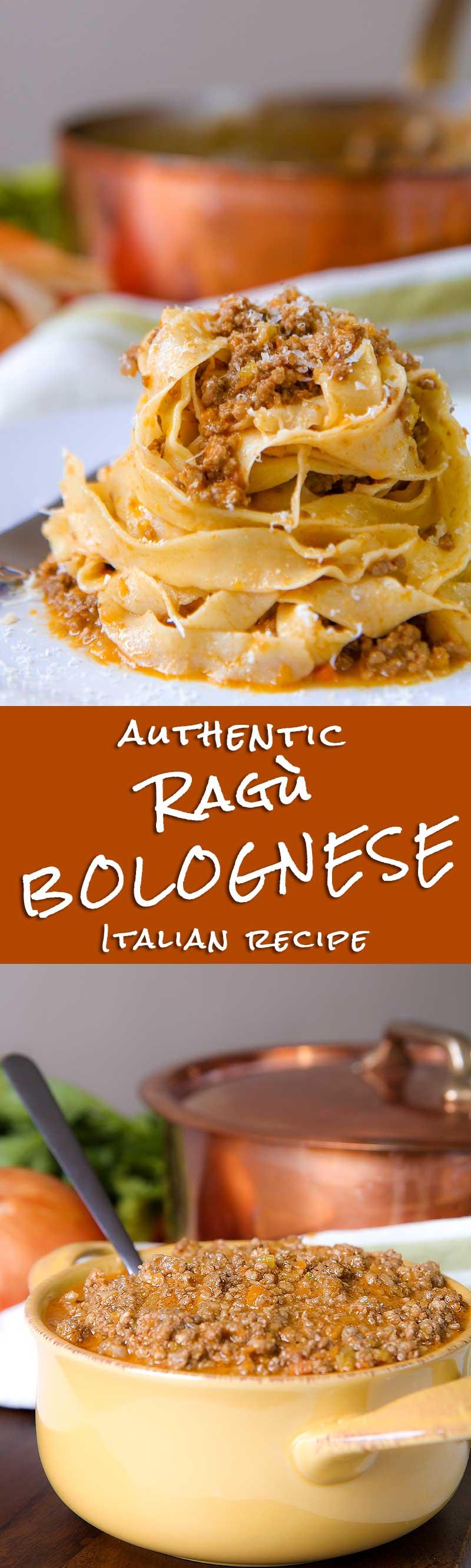 AUTHENTIC BOLOGNESE SAUCE (Ragù alla Bolognese)
