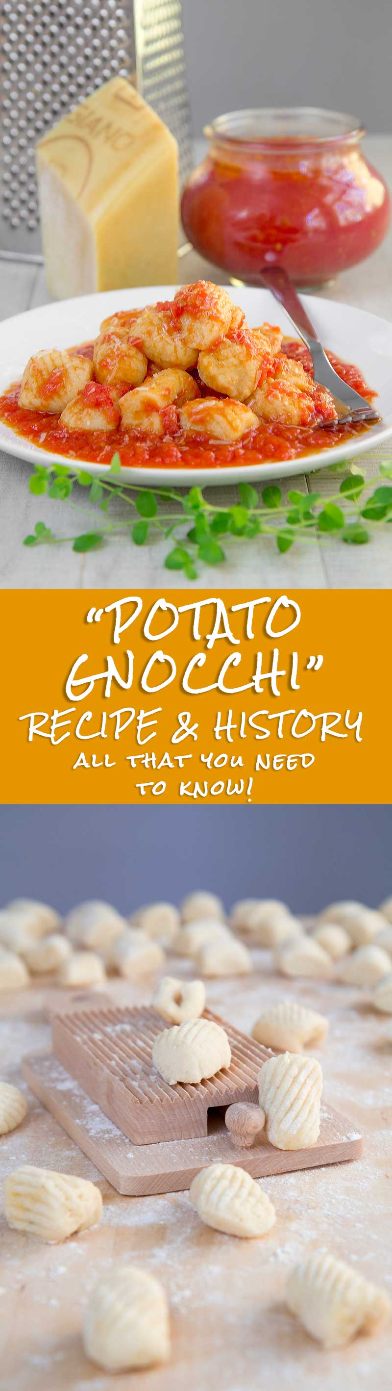 POTATO GNOCCHI RECIPE & HISTORY - all you need to know!