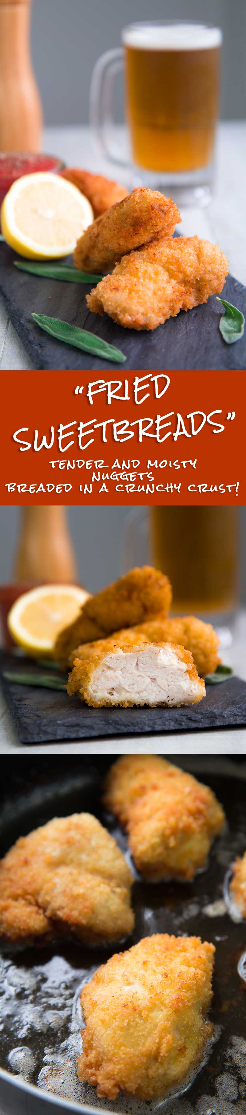 SWEETBREADS RECIPE breaded and fried Italian style