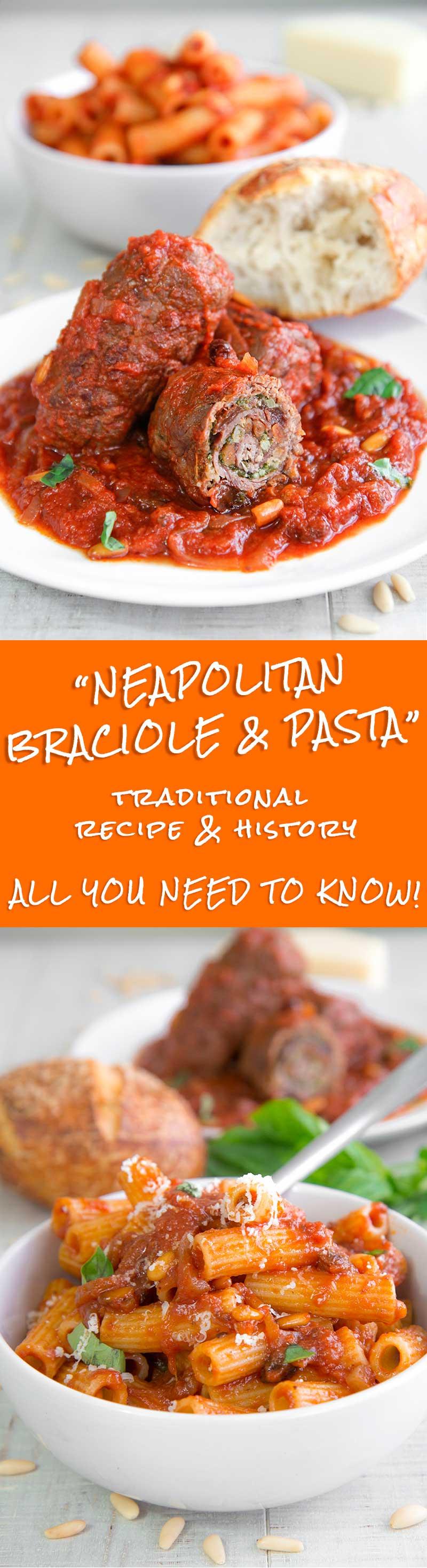 BRACIOLE NEAPOLITAN-STYLE recipe & history - all you need to know!