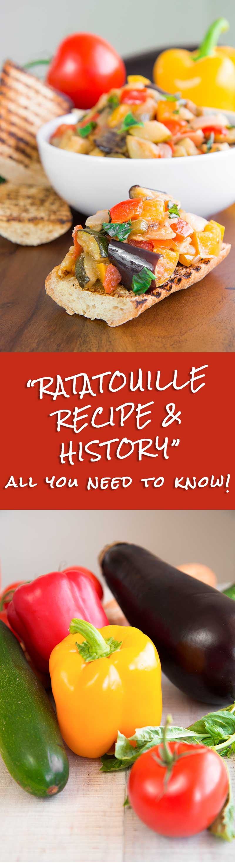 RATATOUILLE RECIPE & HISTORY - traditional French appetizer and side dish