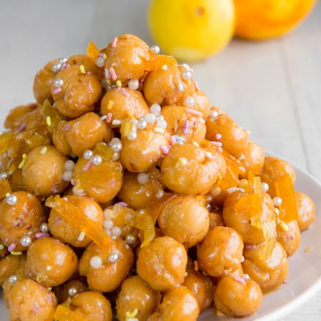 STRUFFOLI - traditional Italian honey balls