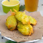 BEER BATTER RECIPE perfect to fry vegetables and seafood!