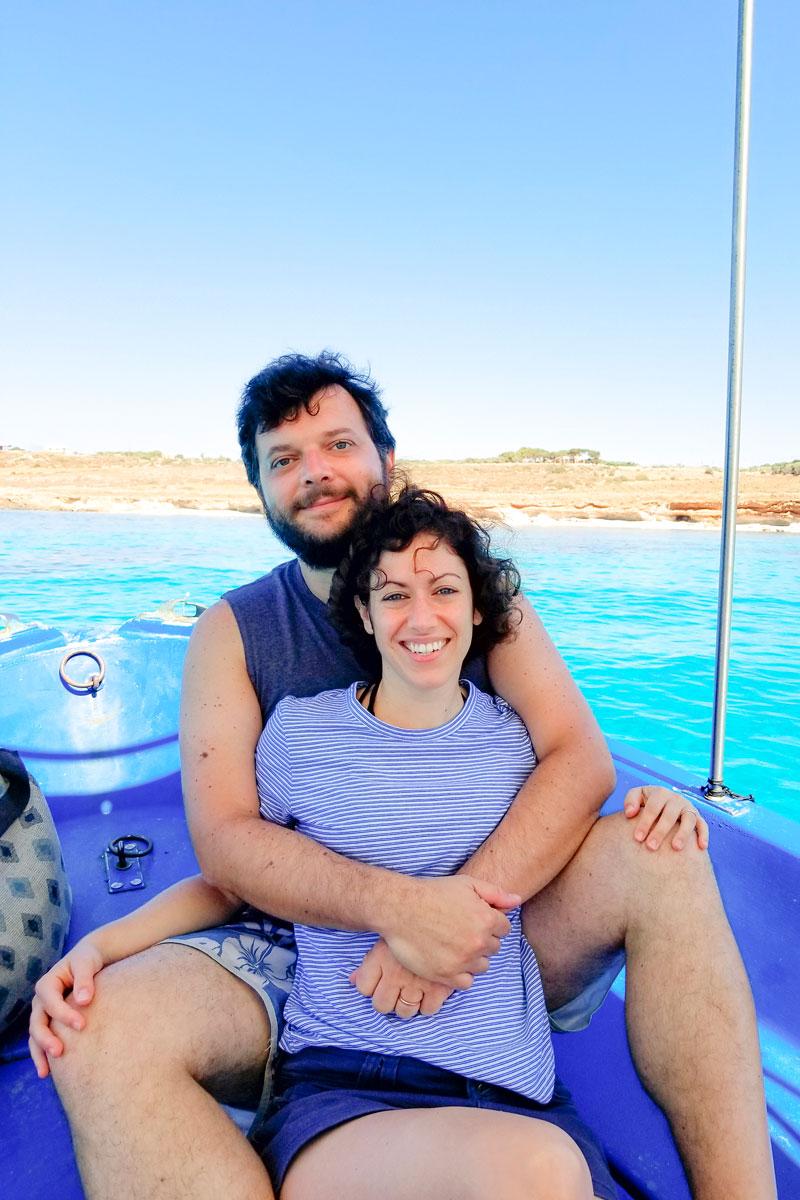 SALMORIGLIO TUNA STEAK RECIPE ON THE BOAT: eating with a Sicilian fisherman! Gioacchino Cataldo