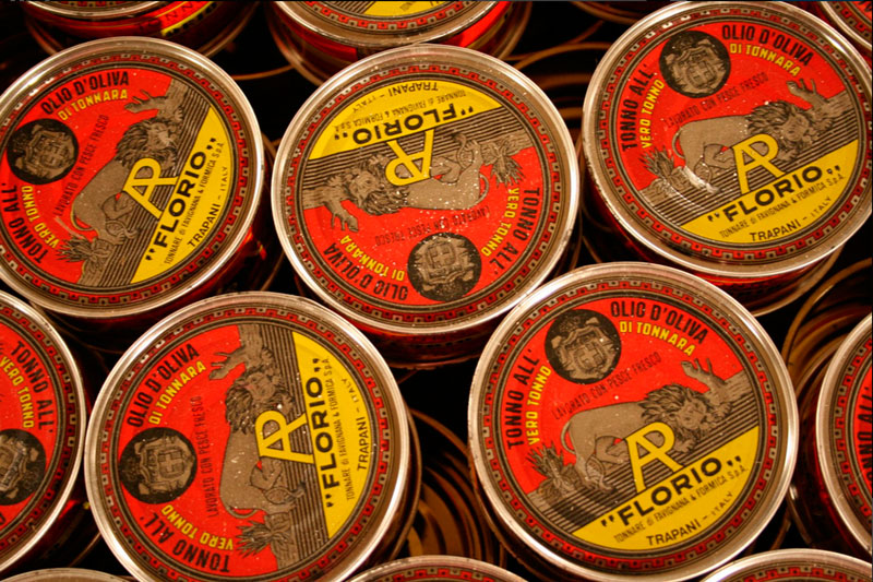 Sicilian canned tuna Florio
