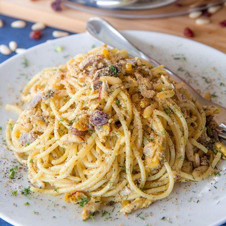 SARDINE PASTA (pasta con le sarde) SICILIAN RECIPE AND HISTORY