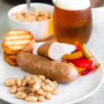 EXTRA JUICY BEER BRAISED SAUSAGES!