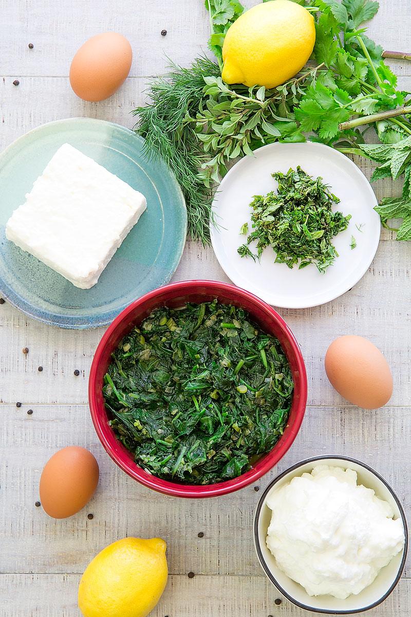 SPANAKOPITA RECIPE & HISTORY - Traditional Greek spinach pie