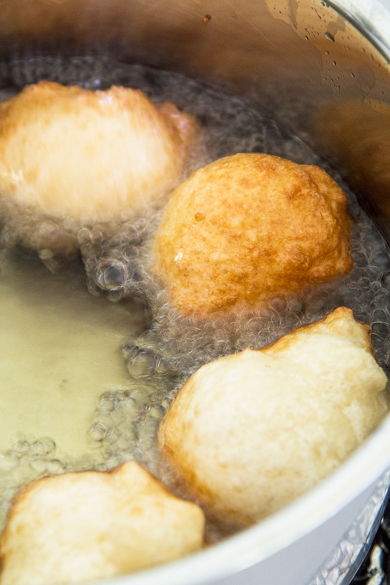 LOUKOUMADES - traditional greek honey puffs recipe & history