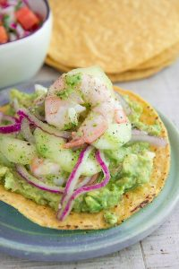 AGUACHILE RECIPE AND HISTORY - Mexican marinated shrimp salad