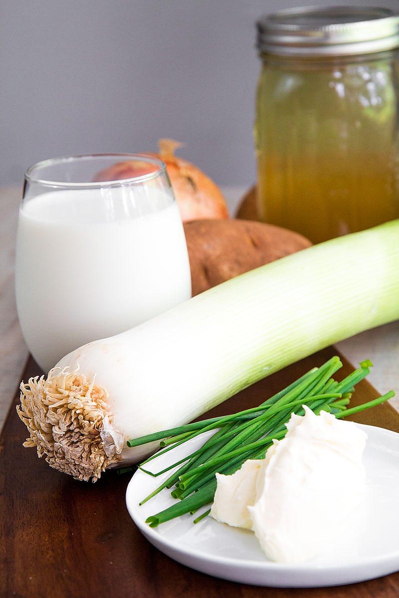 VICHYSSOISE RECIPE & HISTORY - all you need to know about the French leeks soup!