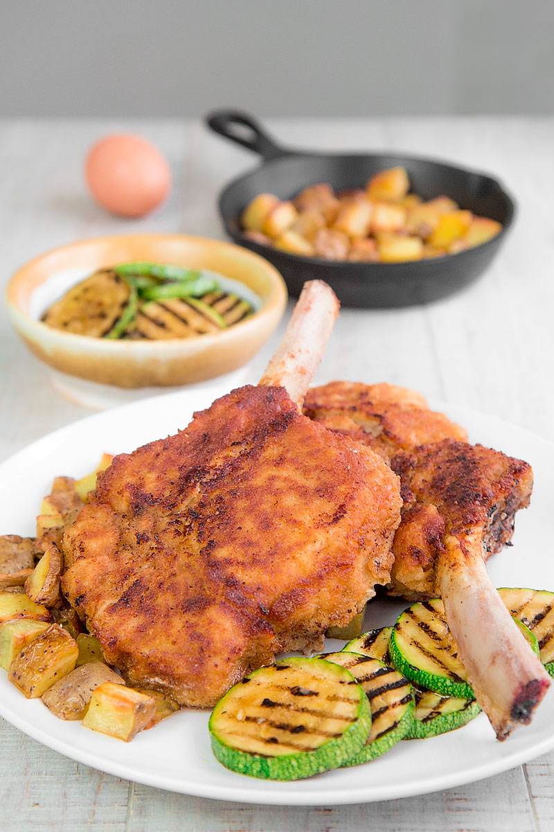 COTOLETTA ALLA MILANESE RECIPE & HISTORY (Veal Milanese Cutlet)