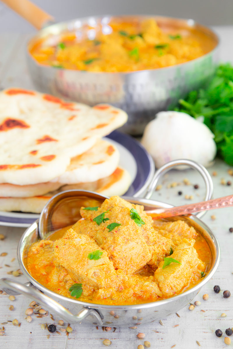 ACHARI CHICKEN GOSHT - Indian spicy and sour chicken stew